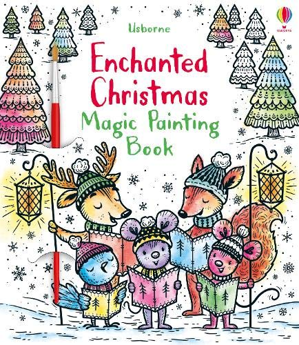Enchanted Christmas Magic Painting Book