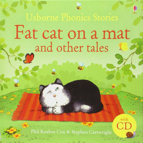 Fat cat on a mat and other tales (with cd)