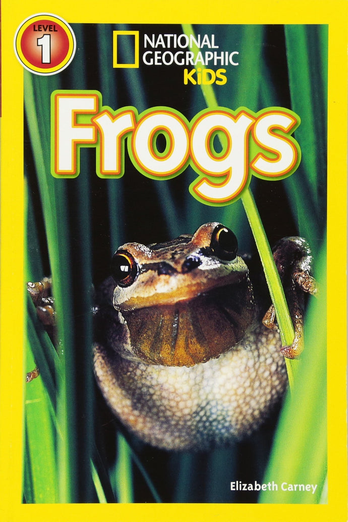 Frogs National Geographic Kids (Level 1)
