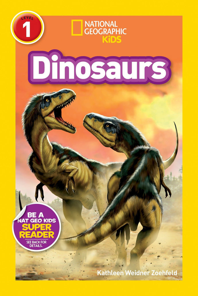 Dinosaurs National Geographic Kids (Level 1)