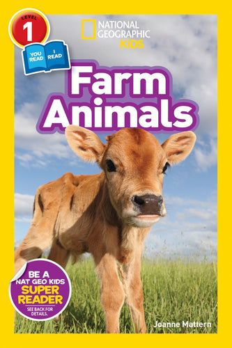 Farm Animals National Geographic Kids (Level 1)