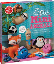 Load image into Gallery viewer, Sew Mini Animals: More Than 12 Animal Plushies to Stitch & Stuff