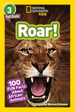 Load image into Gallery viewer, Roar! National Geographic Kids (Level 3)