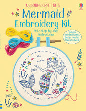 Load image into Gallery viewer, Embroidery Kit: Mermaid