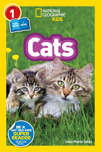 Cats National Geographic Kids (Level 1)