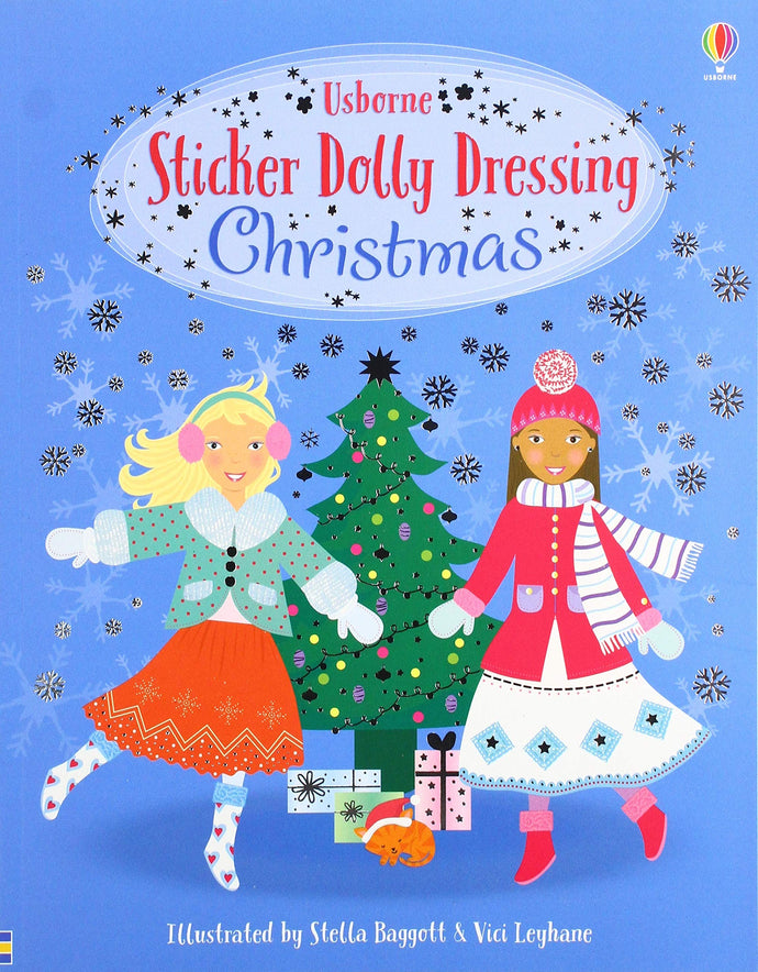 Sticker Dolly Dressing Christmas