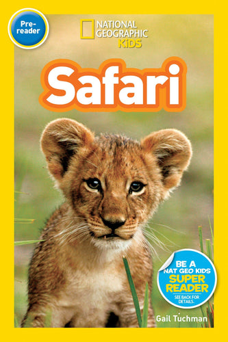 Safari National Geographic Kids (Pre Reader)