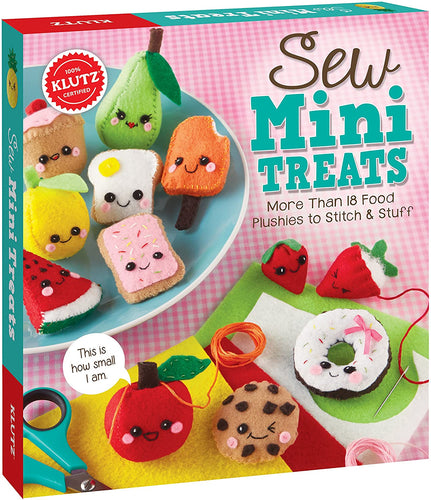 Klutz Sew Mini Treats: More Than 18 Food Plushies to Stitch & Stuff
