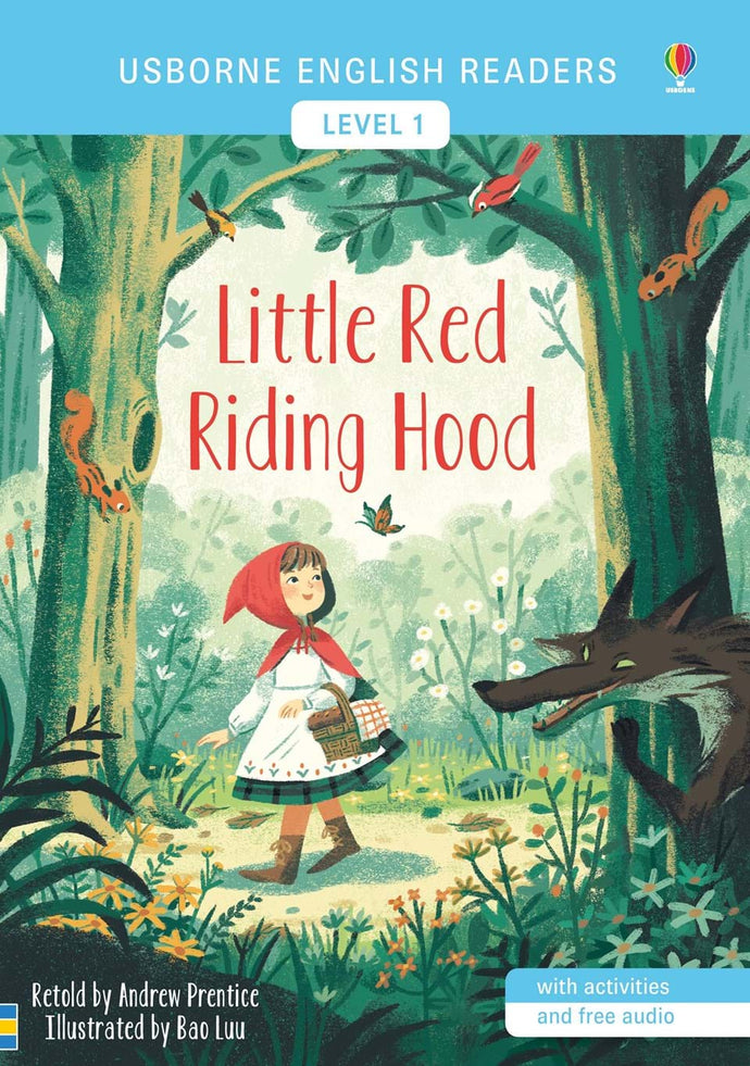 Little Red Riding Hood: Level 1 (English Reader)