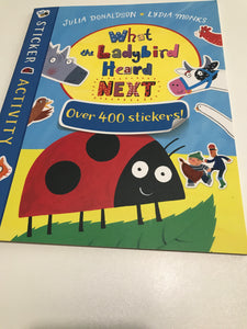 What the Ladybird Heard Next Over 400 Stickers