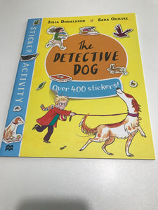 The Detective Dog Over 400 Stickers