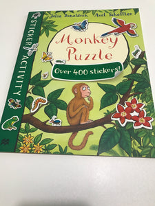 Monkey Puzzle Over 400 Stickers