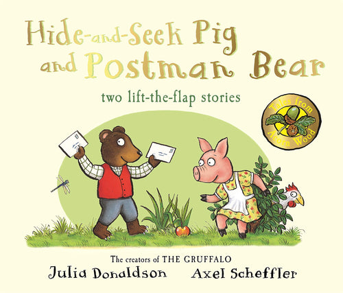 Hide and Seek Pig and Postman Bear