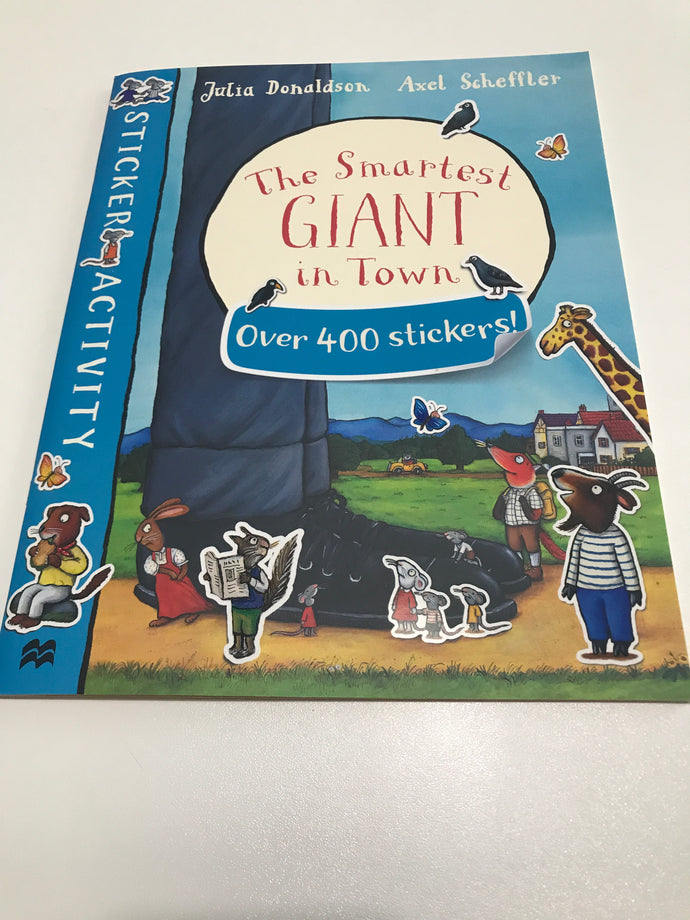 The Smartest Giant in town Over 400 Stickers