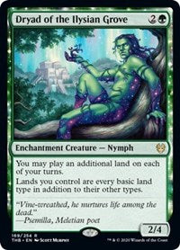 Dryad of the Ilysian Grove [Theros Beyond Death] | Mindsight Gaming