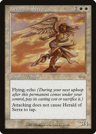 Herald of Serra [Urza's Saga] | Mindsight Gaming