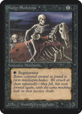 Drudge Skeletons [Limited Edition Alpha] | Mindsight Gaming