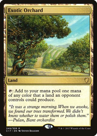 Exotic Orchard [Commander 2017] | Mindsight Gaming