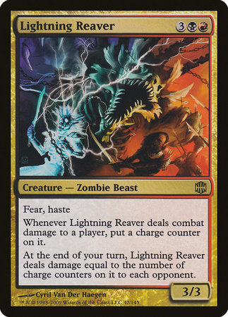 Lightning Reaver [Alara Reborn] | Mindsight Gaming