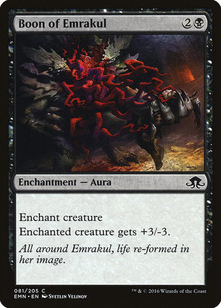 Boon of Emrakul [Eldritch Moon] | Mindsight Gaming