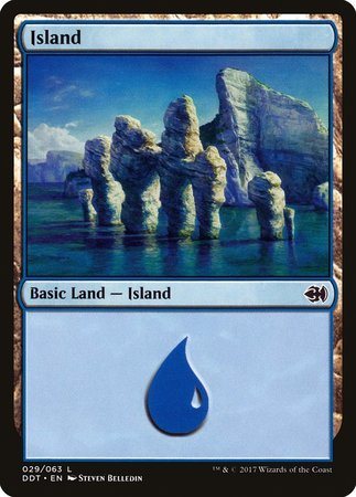 Island (29) [Duel Decks: Merfolk vs. Goblins] | Mindsight Gaming