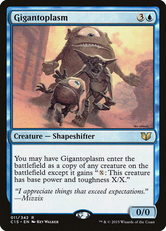 Gigantoplasm [Commander 2015] | Mindsight Gaming
