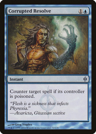 Corrupted Resolve [New Phyrexia] | Mindsight Gaming