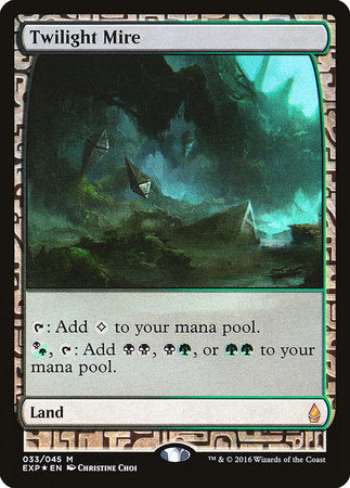 Twilight Mire [Zendikar Expeditions] | Mindsight Gaming