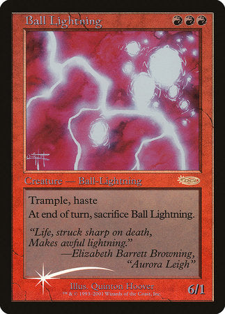 Ball Lightning [Judge Gift Cards 2001] | Mindsight Gaming