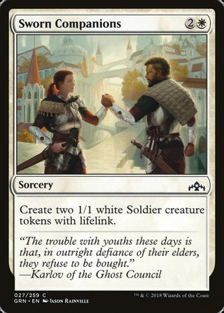 Sworn Companions [Guilds of Ravnica] | Mindsight Gaming
