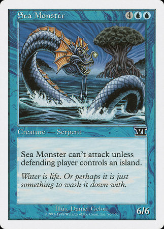 Sea Monster [Classic Sixth Edition] | Mindsight Gaming