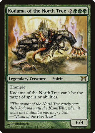 Kodama of the North Tree [Champions of Kamigawa] | Mindsight Gaming