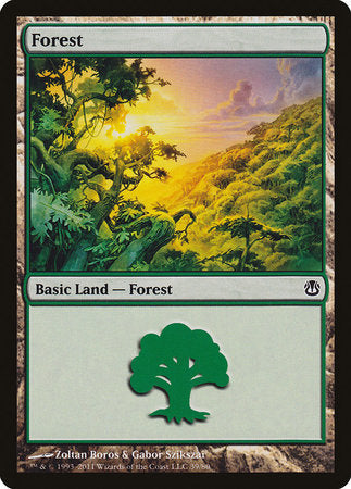 Forest (39) [Duel Decks: Ajani vs. Nicol Bolas] | Mindsight Gaming