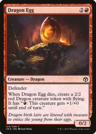Dragon Egg [Iconic Masters] | Mindsight Gaming