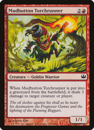 Mudbutton Torchrunner [Duel Decks: Knights vs. Dragons] | Mindsight Gaming