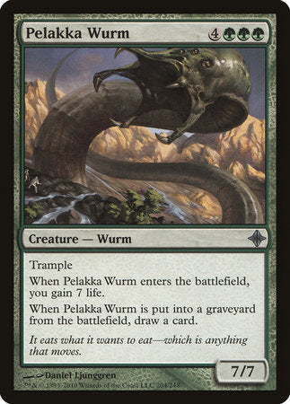 Pelakka Wurm [Rise of the Eldrazi] | Mindsight Gaming