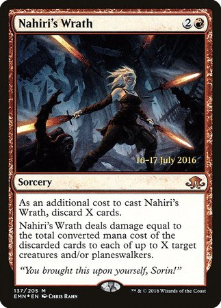 Nahiri's Wrath [Eldritch Moon Promos] | Mindsight Gaming