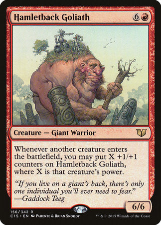 Hamletback Goliath [Commander 2015] | Mindsight Gaming