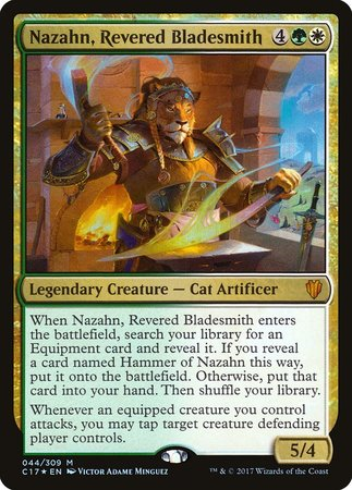 Nazahn, Revered Bladesmith [Commander 2017] | Mindsight Gaming