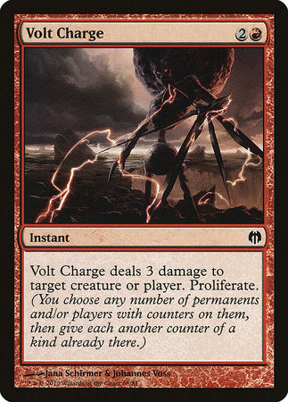 Volt Charge [Duel Decks: Heroes vs. Monsters] | Mindsight Gaming