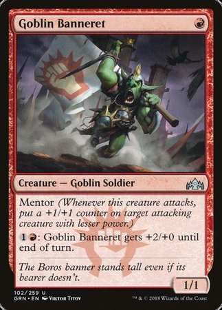Goblin Banneret [Guilds of Ravnica] | Mindsight Gaming