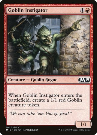 Goblin Instigator [Core Set 2019] | Mindsight Gaming