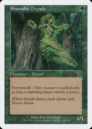 Shanodin Dryads [Seventh Edition] | Mindsight Gaming