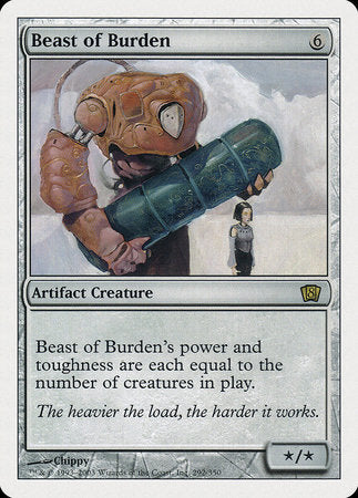 Beast of Burden [Eighth Edition] | Mindsight Gaming