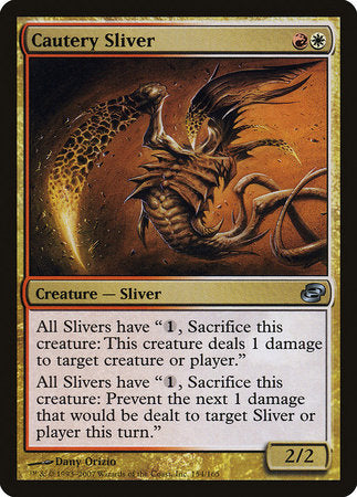 Cautery Sliver [Planar Chaos] | Mindsight Gaming