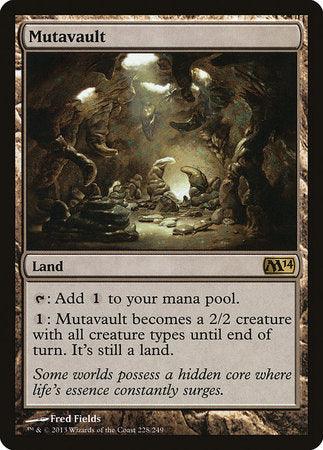 Mutavault [Magic 2014] | Mindsight Gaming