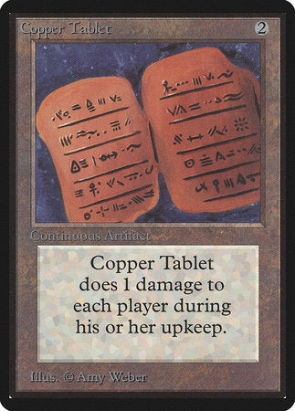 Copper Tablet [Limited Edition Beta] | Mindsight Gaming