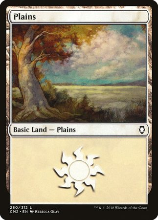 Plains (280) [Commander Anthology Volume II] | Mindsight Gaming