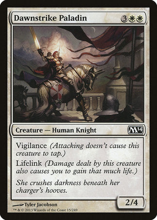 Dawnstrike Paladin [Magic 2014] | Mindsight Gaming