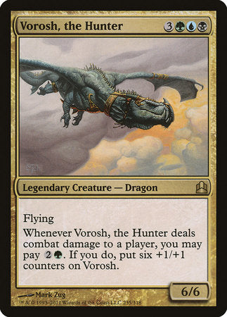 Vorosh, the Hunter [Commander 2011] | Mindsight Gaming